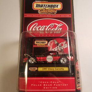 Matchbox Coca-Cola Brand 1997 Chevy Corvette new